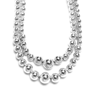 collier double or