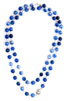 Necklace Ladybird Blues 2