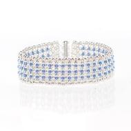 Bracelet Blue Elegance by Leonor Heleno Designs (1)