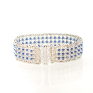 Bracelet Blue Elegance by Leonor Heleno Designs (2)