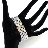Bracelet Blue Elegance By Leonor Heleno Designs (4)