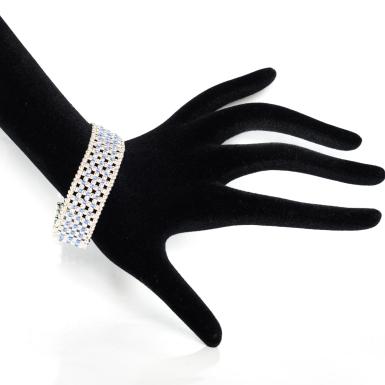 Bracelet Blue Elegance By Leonor Heleno Designs (5)