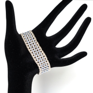 Bracelet Blue Elegance By Leonor Heleno Designs (6)