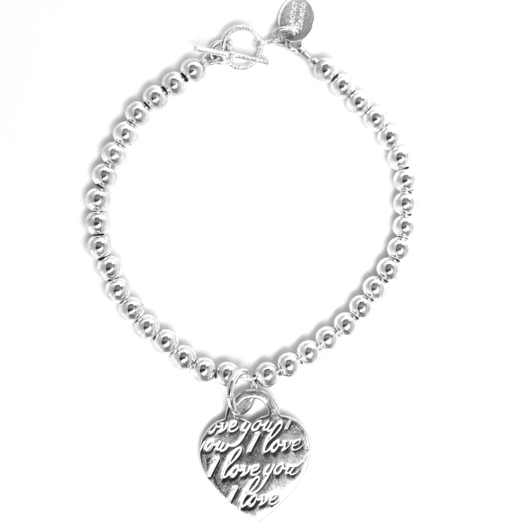 45% Off, sterling silver bracelet, size M, 55 Euros