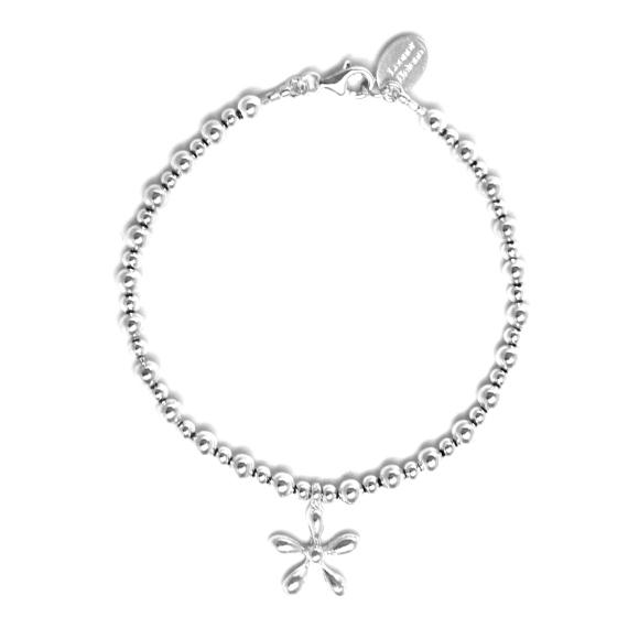 35% off, sterling silver charm bracelet, size M, 55 Euros
