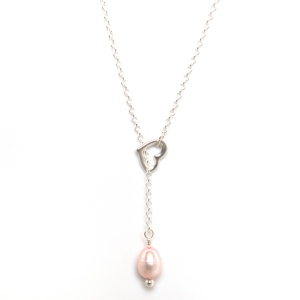 Collier Un Coeur de Perle, by Leonor Heleno Designs