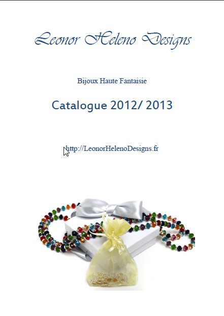 Leonor Heleno Designs Fashion Jewelry's Catalog 2012-2013