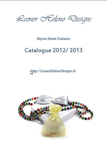 Leonor Heleno Designs Fashion Jewelry's Catalog 2012-2013