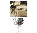 Clip Flamingo de Cartier, en diamants, rubis, saphirs, émeraudes et citrines, vers 1940.