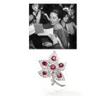 Collier et boucles d'oreilles Boucheron ayant appartenus à la Princesse Salimah Aga Khan. Van Cleef & Arpels
